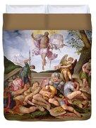 The Resurrection Of Christ, Florentine School, 1560 Duvet Cover