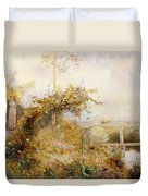 The Return From The Harvest Field Duvet Cover