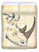 The Rhino Duvet Cover