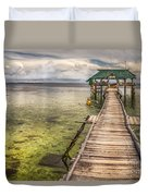 The Rickety Pier Duvet Cover