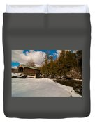 The Right Path Duvet Cover