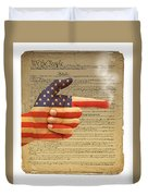 The Right To Bear Arms-4 Duvet Cover