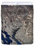The Rio Grande River-arizona  Duvet Cover