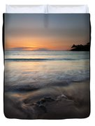 The Rise And Fall Duvet Cover by Mike  Dawson