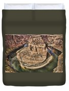 The River Did It Duvet Cover by Heather Applegate