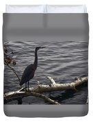 The River Master Duvet Cover