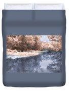 The River - Near Infrared Duvet Cover