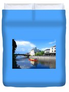 The River Nore Duvet Cover