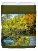 The River Road Curve Duvet Cover