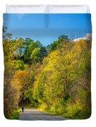 The River Road Duvet Cover