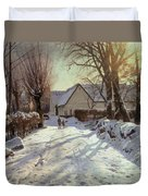 The Road Home Duvet Cover by Peder Monsted