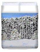 The Road To Petoskey Duvet Cover