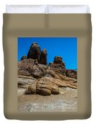 The Rock Formation Duvet Cover