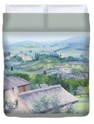 The Rolling Hills Of Tuscany Duvet Cover