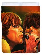 The Rolling Stones Duvet Cover