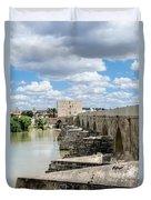 The Roman Bridge Of Cordoba  Duvet Cover