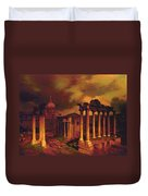 The Roman Forum Duvet Cover