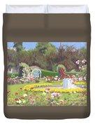 The Rose Garden Duvet Cover