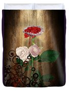 The Rose Of Sharon Duvet Cover