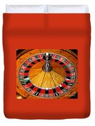 The Roulette Wheel Duvet Cover