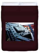 The Roundhouse Evanston Wyoming - 3 Duvet Cover