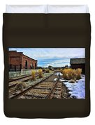 The Roundhouse Evanston Wyoming - 5 Duvet Cover