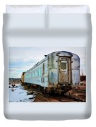 The Roundhouse Evanston Wyoming Dining Car - 1 Duvet Cover