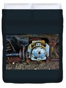 The Roundhouse Evanston Wyoming Dining Car - 3 Duvet Cover