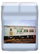 The Roundhouse Evanston Wyoming Dining Car - 5 Duvet Cover