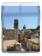 The Ruins Duvet Cover