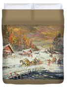 The Russian Winter Duvet Cover