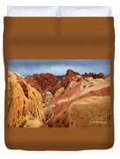 Valley Of Fire Nevada 1 Duvet Cover