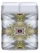 The Sacred Pine Mandala Yantra Duvet Cover