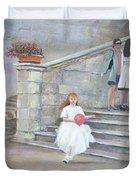 The San Gimignano Wedding Party Duvet Cover