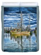The Savory Hdr Duvet Cover