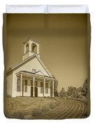 The Schoolhouse Hdr Duvet Cover
