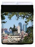 The Scout Kansas City Missouri Duvet Cover