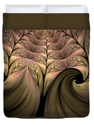 The Secret World Of Plants Abstract Duvet Cover