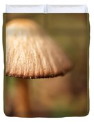 The Secret World Of Shroooms Duvet Cover