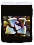 The Sedum Succulent Duvet Cover