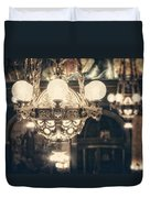 The Senate Chandeliers  Duvet Cover by Lisa Russo