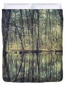 The Sentient Forest Duvet Cover