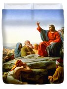 The Sermon On The Mount  Duvet Cover