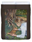 The Seven Spirits Series - The Spirit Of Knowledge Duvet Cover