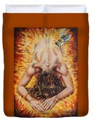 The Seven Spirits Series - The Spirit Of The Fear Of The Lord Duvet Cover