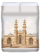 The Shaking Minarets Of Ahmedabad Duvet Cover