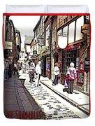 The Shambles York Duvet Cover