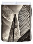 The Shard - The View Duvet Cover
