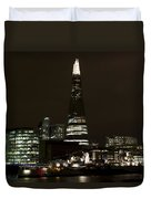The Shard And Southbank London Duvet Cover