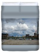 The Shard And Thames View Duvet Cover